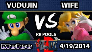 Fight Pitt IV - Wife (Peach) Vs. Vudujin (Luigi) - Pools