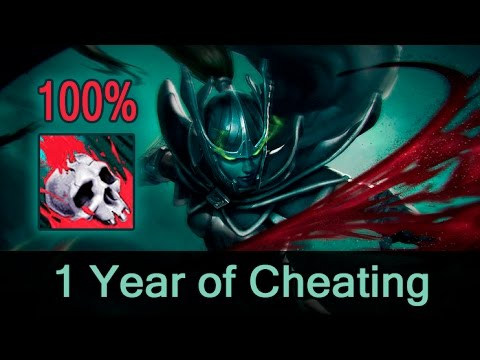 Phantom Assassin 100% crit hack/script — 1 year of cheating in Dota 2