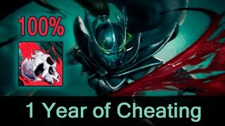 Phantom Assassin 100% crit hack/script — 1 year of cheating in Dota 2