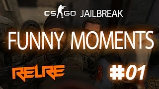 CS: GO Jailbreak FUNNY MOMENTS #VOL 1