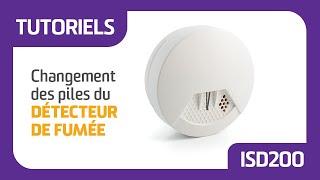 Tutoriel : Changement de pile du detecteur de fumée ISD de Nexecur