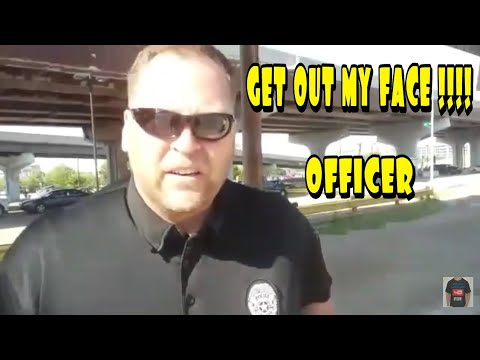 YOUR NOT ALLOWED TO FILM I DON'T ANSWER QUESTIONS FIRST AMENDMENT AUDIT ID REFUSAL POLICE OWNED
