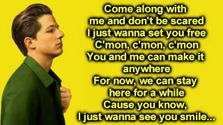 One Call Way Lyrics - Charlie Puth thumbnail