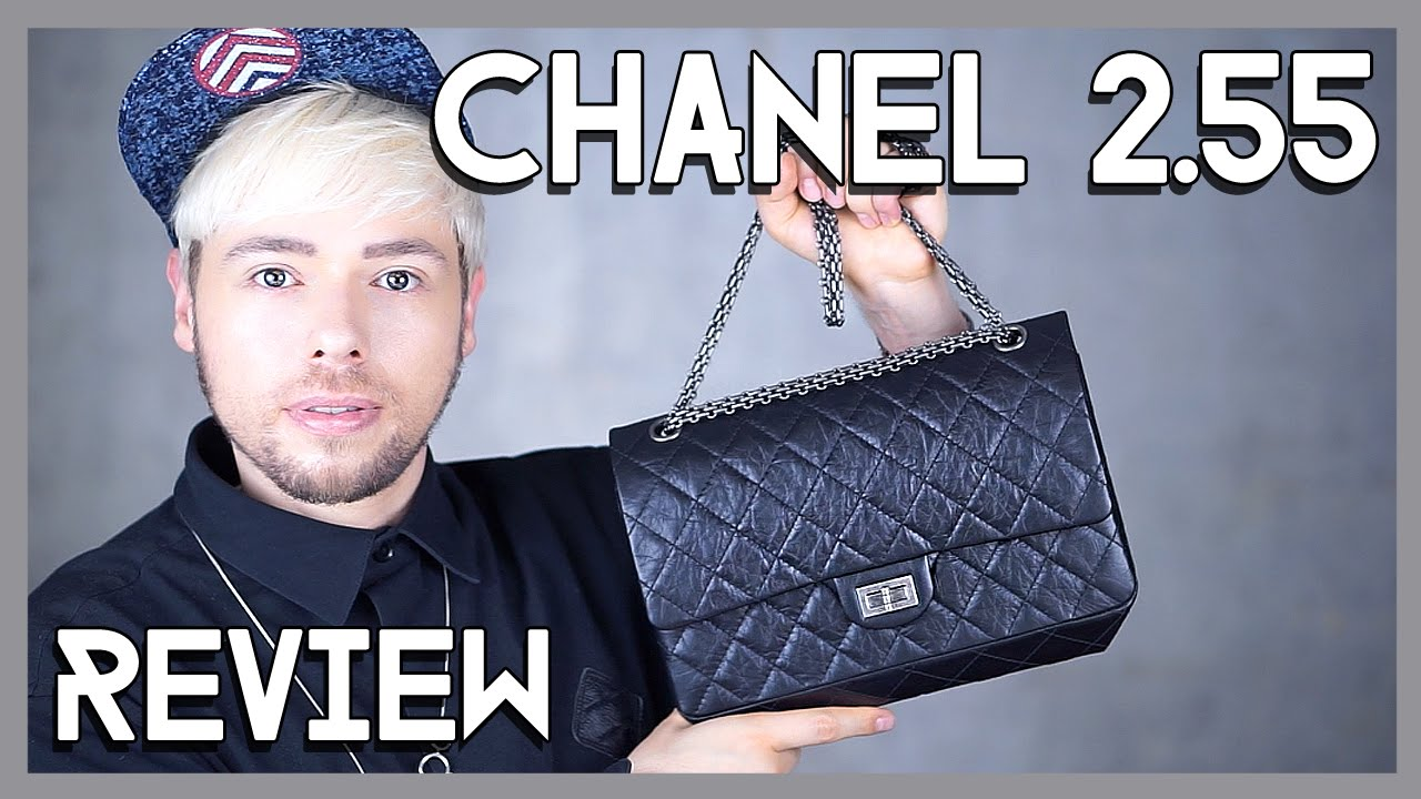 8bed0bf1460bde CHANEL 2.55 REISSUE BAG REVIEW - YouTube