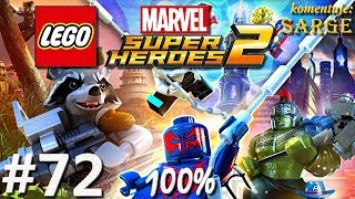 Zagrajmy w LEGO Marvel Super Heroes 2 (100%) odc. 72 - Torg-nado 100%