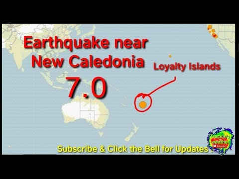 Earthquake near Loyalty Islands, October 30 2017