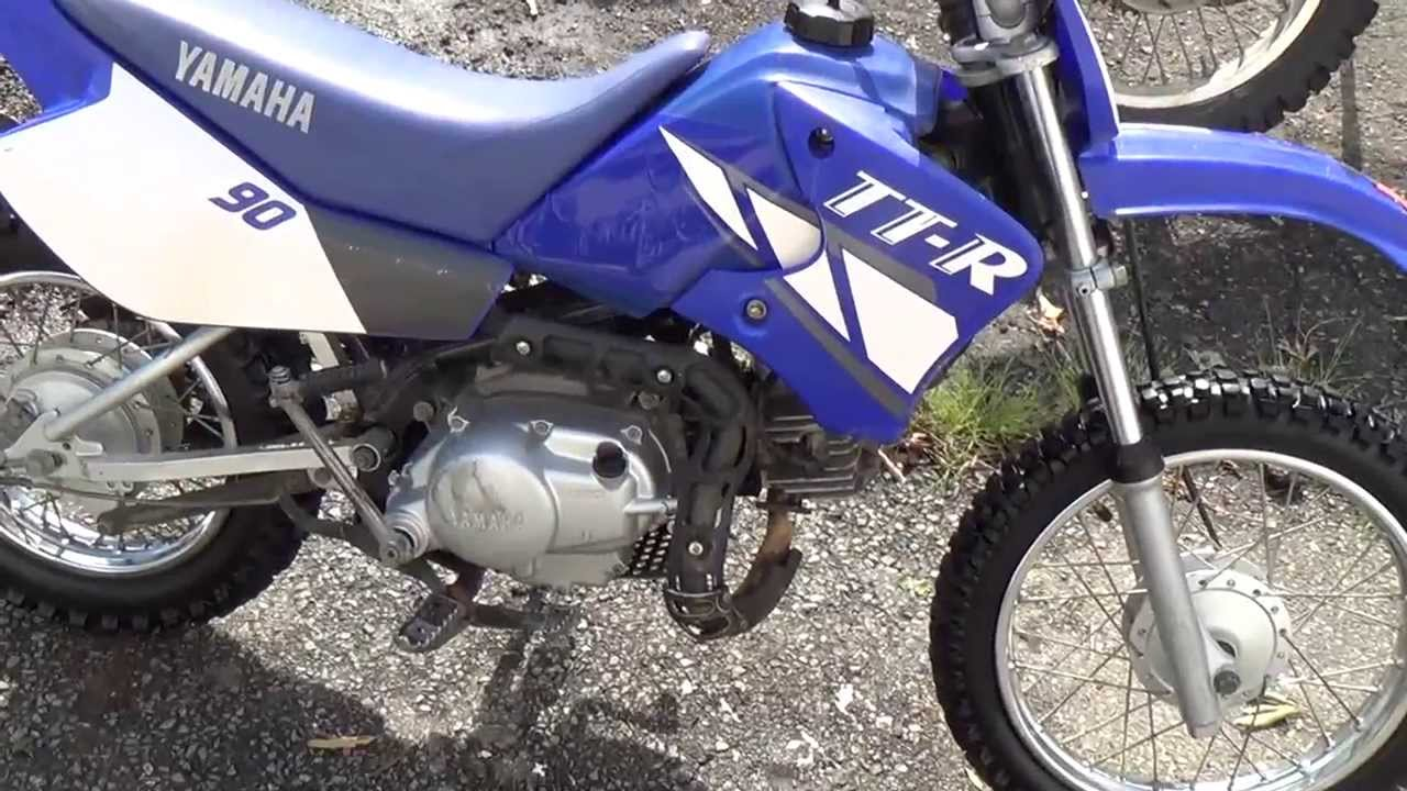 2001 yamaha ttr 90 back together youtube for Yamaha ttr 90