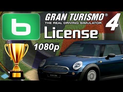 Gran Turismo 4 1080p - B-License - Gold & Prize Cars!