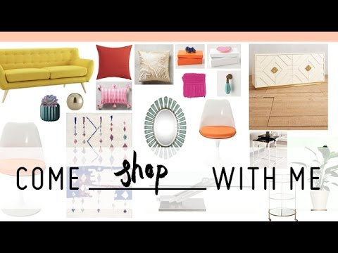 Interior Design Shopping for PatrickStarrr's Colorful Room Makeover
