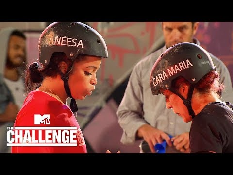 Cara Maria Vs. Aneesa Pole Wrestling BATTLE | The Challenge: Battle Of The Bloodlines