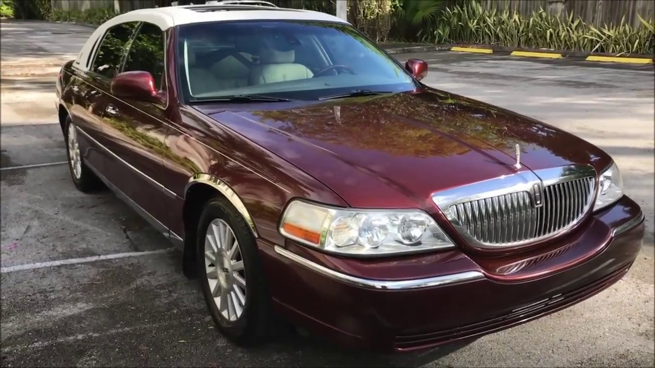 Lincoln Town Car Signature Presidential Town Sedan Walk Around Youtube
