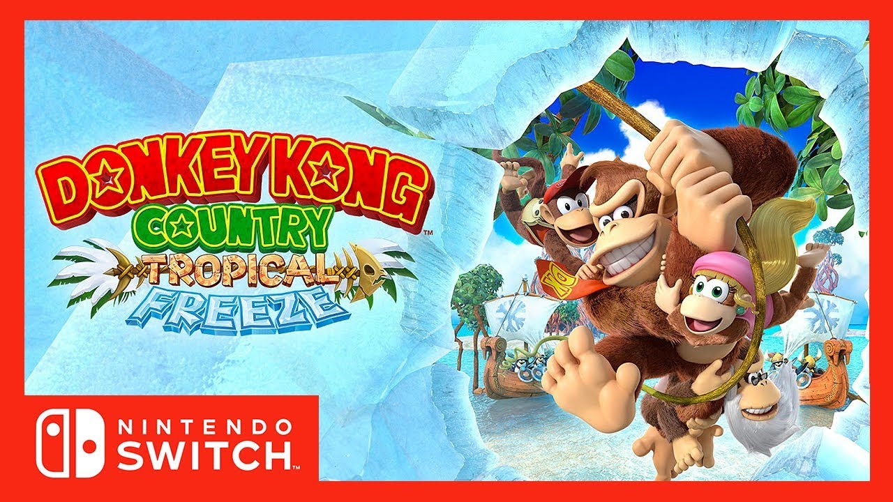 [Overview] Donkey Kong Country Tropical Freeze - Nintendo Switch
