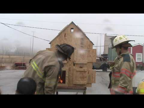 Doll House Fire Behavior,  Fort Osage Career and Technology Center,  Independence Missouri