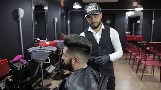 Curso de barbeiro grátis | Pompadour - Aula 03 - Alfa Look's Trainning