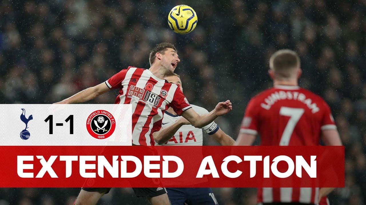 Tottenham Hotspur 1-1 Sheffield United | Extended Premier League highlights