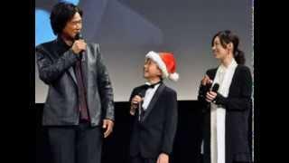 2013年11月22日公開、クリスマスの東京駅を舞台にした映画「すべては君...