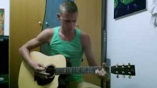 Mark Ronson - Uptown Funk ft. Bruno Mars (Acoustic Guitar Cover)- Hanan Pyatsky