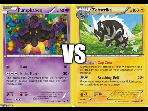Night March vs Vespiquen/Raichu/Zebstrika/Zoroark - Worlds N