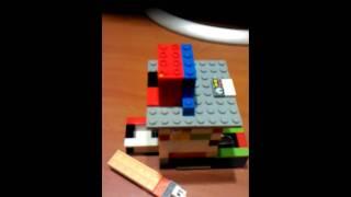 Lego Candy Dispenser V2(new Key Design)