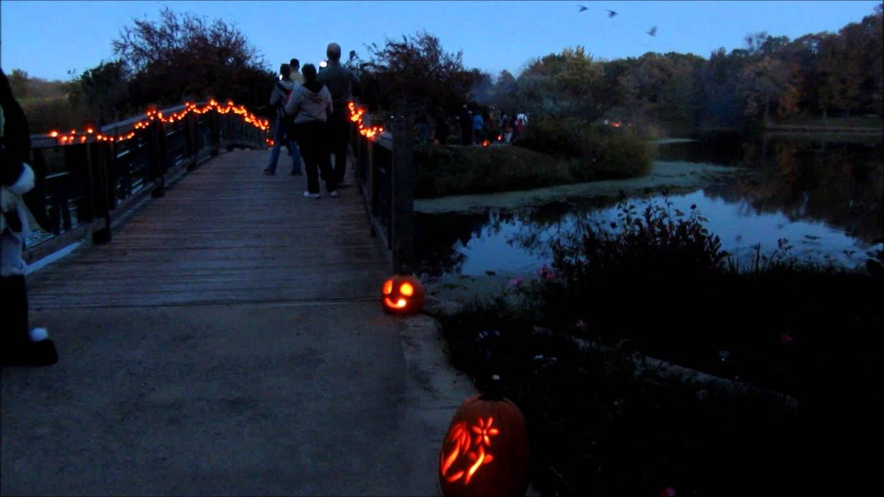 Jack O Lantern Festival Powell Gardens Youtube