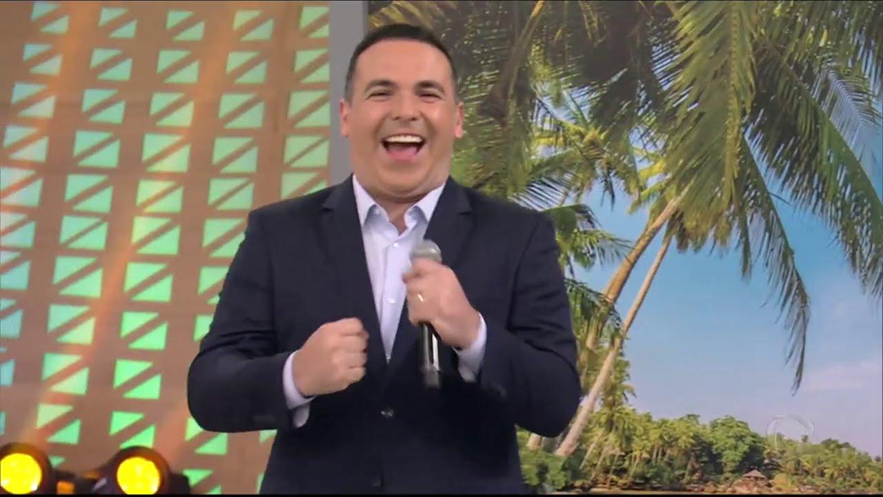 """Gretchen e Gottino invadem celular do Faro no quadro """"Embolados"""""""