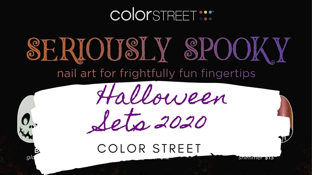 Halloween 2020 Colors Color Street Halloween Sets 2020   YouTube