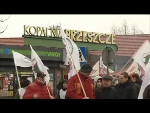 Polish Miners on Strike: Protests follow plan to restructure Europe biggest coal mine