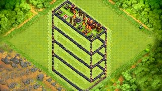 EPIC 3D LAYOUT TROLL - CLASH OF CLANS