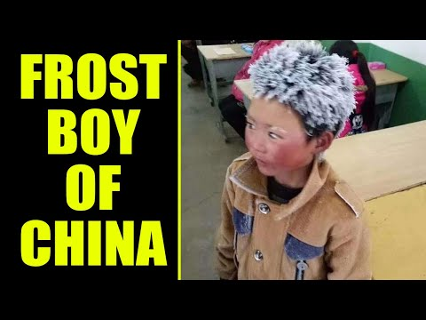 Chinese 'Frost Boy' Viral Photo Generates US$2.61 Million in Donations | Oneindia news
