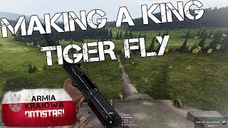 When the Polish Made a King Tiger Fly - ArmA 3 WW2