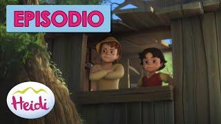 Heidi 🌸🌺 Episodio 11 🌸🌺 Ataque a la casita del árbol
