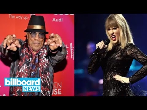 Q Jones And Taylor Swift
