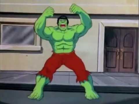 The Incredible Hulk Cartoon Intro with Joe Harnell theme  YouTube