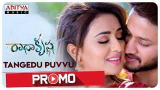 Thangedu Puvvu Song Promo | RadhaKrishna Songs | PrasadVarma | MM SreeLekha | Anurag | Musskan Sethi