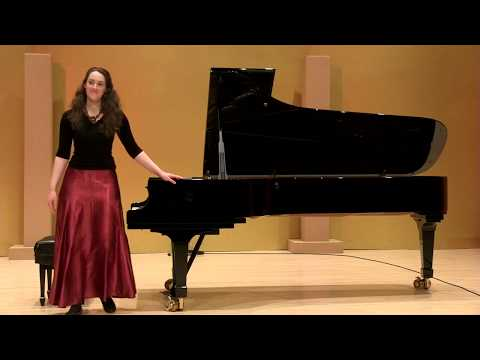 Alexandra Gorlin-Crenshaw: J.S. Bach French Suite No. 4 in E-flat Major, BWV 815