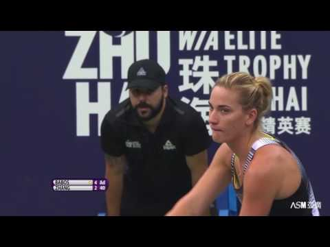 2016 WTA Elite Trophy Zhuhai | Timea Babos vs Shuai Zhang