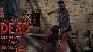 Walking Dead - Lee Beats Up Arvo [Model Swap w/ Voice-Over]