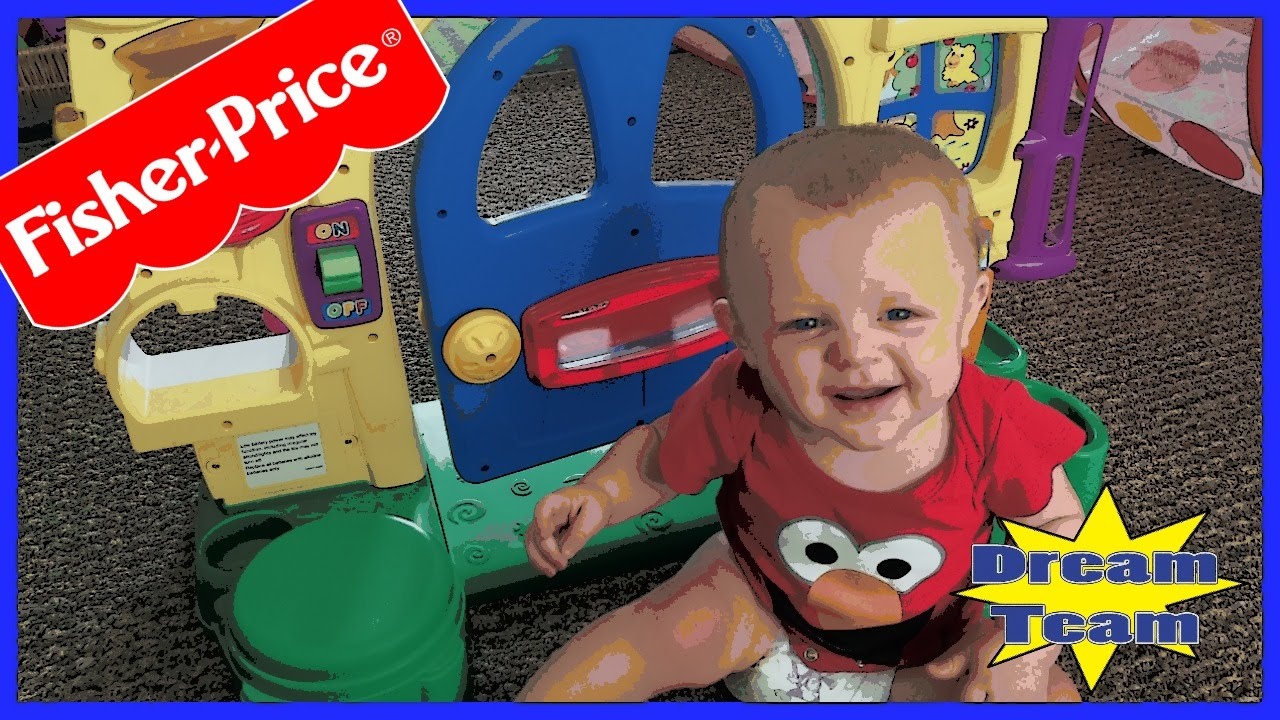 Fisher Price Big Front Door Video With Baby A Youtube
