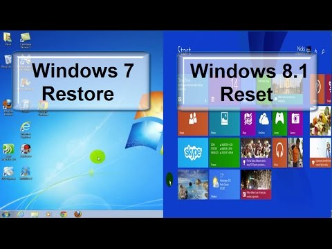 How To Restore Windows How To Reset Your Pc To Factory Settings In Windows