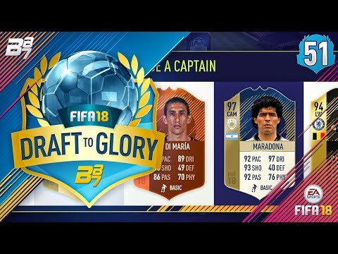 INSANE HYBRID DRAFT!! | FIFA 18 DRAFT TO GLORY #51