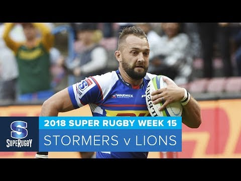 HIGHLIGHTS: 2018 Super Rugby Week 15: Stormers v Lions