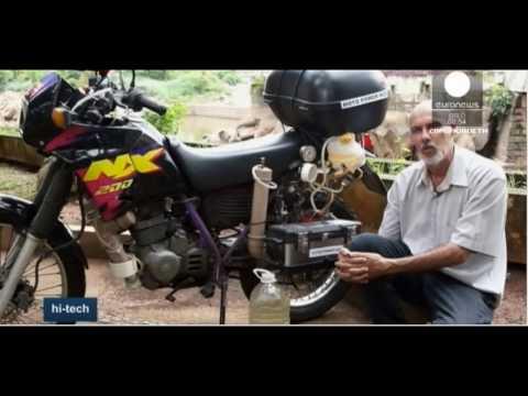 Мотоцикл работает на воде
