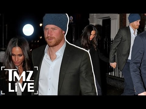 Prince Harry & Meghan Markle: Date Night  TMZ Live