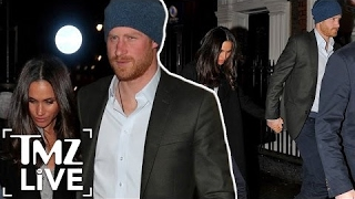 Prince Harry & Meghan Markle: Date Night | TMZ Live