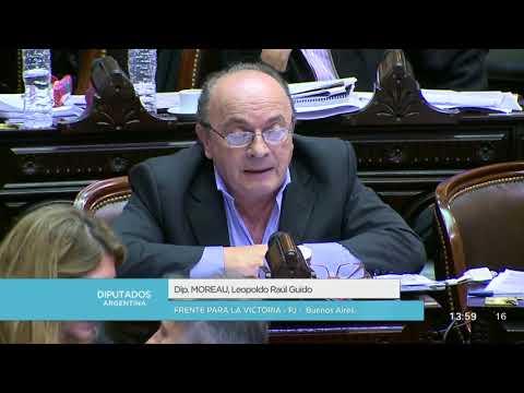 Diputado Moreau Leopoldo Raúl Guido  Sesión 09052018  PL