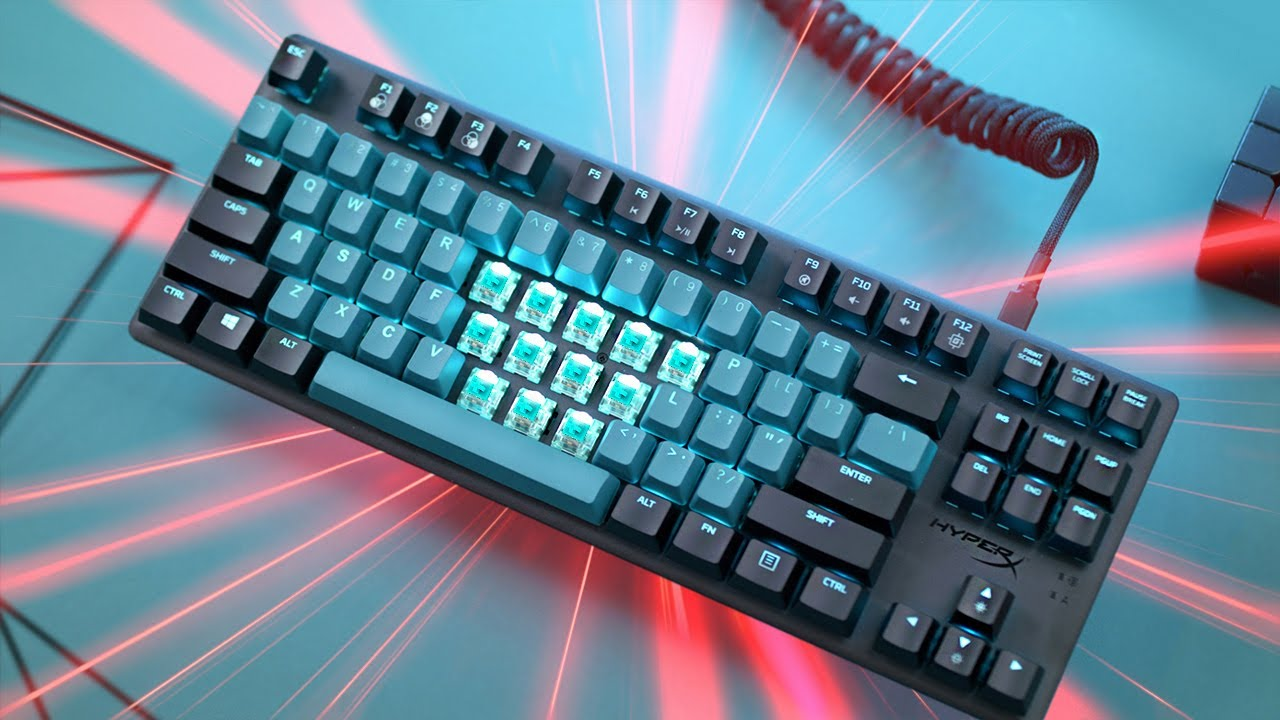 New HyperX TKL Keyboard is seriously good, but....