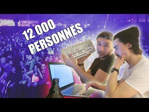 CRÉER UNE MUSIQUE DEVANT 12 000 PERSONNES !