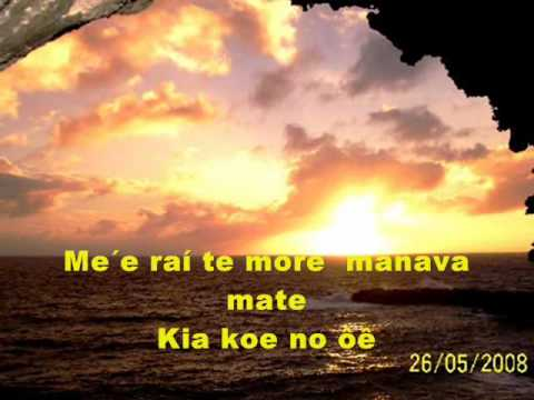 Topatangi More Manava Mate Con Letras By Frases En