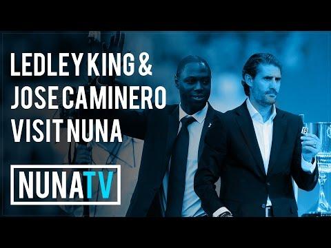 Ledley King & Jose Caminero visit Nunawading City :: NUNA TV