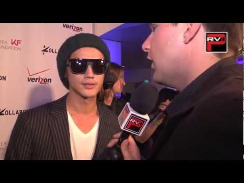 赤西仁 英語インタビュー Jin Akanishi talks about Harold Kumar , Justin Bieber...